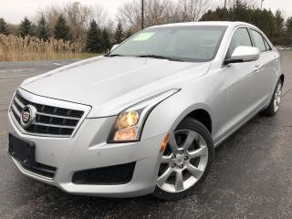 Used 2014 Cadillac ATS 2.0T LUXURY AWD for sale in Cayuga, ON