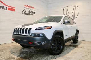 Used 2018 Jeep Cherokee Trailhawk 4X4 for sale in Blainville, QC