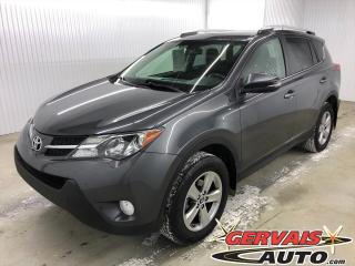 Used 2015 Toyota RAV4 XLE AWD MAGS TOIT CAMÉRA SIÈGES CHAUFFANTS *Traction intégrale* for sale in Shawinigan, QC