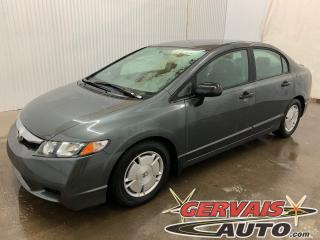 Used 2011 Honda Civic DX-G A/C MAGS Automatique *Bas Kilométrage* for sale in Shawinigan, QC