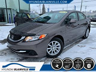 Used 2013 Honda Civic LX DÉMARREUR DISTANCE, BLUETOOTH, BANCS for sale in Blainville, QC