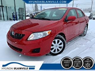 Used 2009 Toyota Corolla CE A/C, INSPECTÉS EN 120 POINTS for sale in Blainville, QC