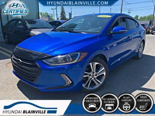 Used 2017 Hyundai Elantra GLS TOIT, APPLE CARPLAY, VOLANT CHAUFFAN for sale in Blainville, QC