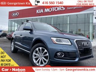 Used 2016 Audi Q5 2.0T Progressiv | QUATTRO | NAVI | PANO ROOF | for sale in Georgetown, ON