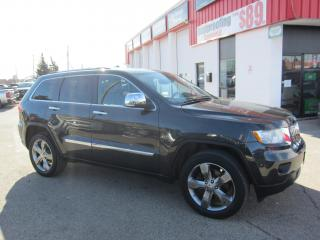 Used 2011 Jeep Grand Cherokee Overland 16,995+HST+LIC FEE / CERTIFIED / PANORAMIC ROOF / WOOD WHEEL for sale in North York, ON