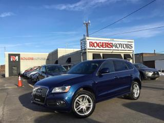 Used 2016 Audi Q5 TFSI QTRO - S-LINE - NAVI - PANO ROOF for sale in Oakville, ON
