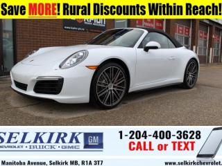 Used 2018 Porsche 911 Carrera 4S Cabriolet  *LOW KMS, LOADED, RARE* for sale in Selkirk, MB