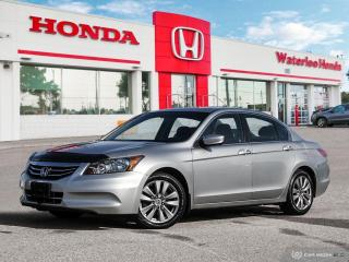 Used 2012 Honda Accord Accident Free, Low KM Accord EX! Tires and Brakes are in great condition! for sale in Waterloo, ON