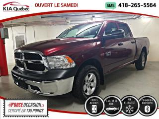 Used 2017 RAM 1500 ST* 4X4* 5.7L* CREW* CECI EST UN 2018* for sale in Québec, QC
