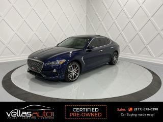 Used 2020 Genesis G70 3.3T Prestige 3.3T PRESTIGE| ALL-WHEEL-DRIVE for sale in Vaughan, ON