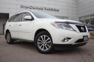 Used 2016 Nissan Pathfinder CLEAN CARFAX PATHFINDER SV AWD. NISSAN CERTIFIED PREOWNED! for sale in Toronto, ON