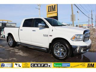 Used 2018 RAM 1500 LARAMIE/CREW/4X4/TOIT/NAV/DEMARREUR for sale in Salaberry-de-Valleyfield, QC