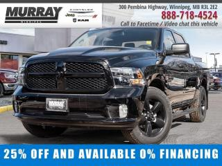 New 2020 RAM 1500 Classic Express 4x4 Crew Cab Save $12,883 - $238/bw for sale in Winnipeg, MB