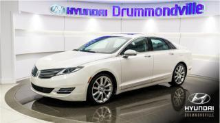 Used 2016 Lincoln MKZ AWD + GARANTIE + NAVI + TOIT + MAGS + C for sale in Drummondville, QC