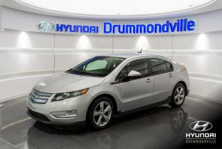 Used 2014 Chevrolet Volt NAVI + BOSE + MAGS + CRUISE + BLUETOOTH for sale in Drummondville, QC