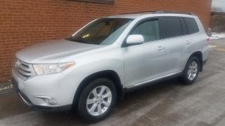 Used 2012 Toyota Highlander leather-7passengers for sale in Oakville, ON