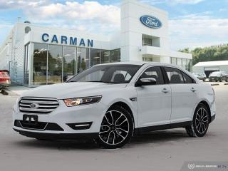 Used 2019 Ford Taurus LIMITED for sale in Carman, MB