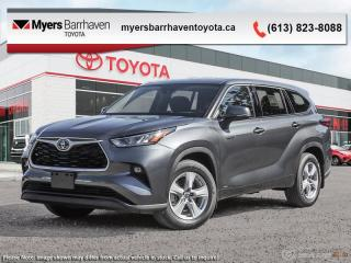 New 2020 Toyota Highlander Hybrid LE  -  Android Auto - $317 B/W for sale in Ottawa, ON