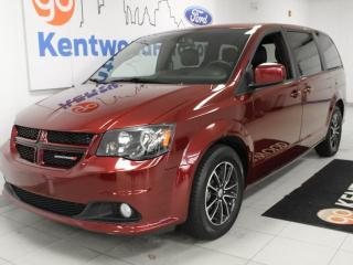 Used 2019 Dodge Grand Caravan 3 Mos Deferral!| GT 2WD with heated power leather seats, heated steering wheel, power liftgate and a back up cam for sale in Edmonton, AB
