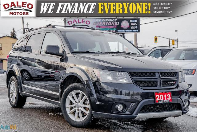 2013 Dodge Journey SXT / 6 CYL / 7 PASS / REAR AC / BLUETOOTH