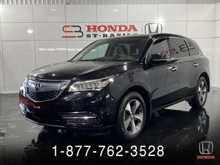 Used 2016 Acura MDX AWD + GARANTIE + 7 PASSAGERS + WOW! for sale in St-Basile-le-Grand, QC