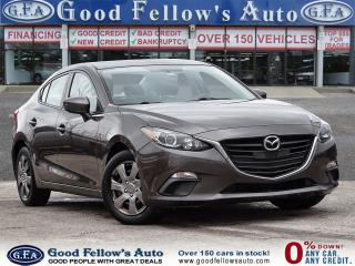 Used 2016 Mazda MAZDA3 GX MODEL, SKYACTIV, REARVIEW CAMERA, 4CYL 2.0LITER for sale in Toronto, ON