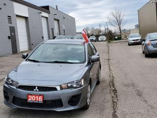 Used 2016 Mitsubishi Lancer ES for sale in Waterloo, ON