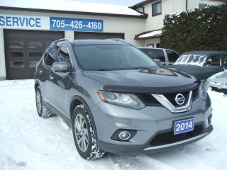 Used 2014 Nissan Rogue SL , AWD , PANO Roof for sale in Beaverton, ON