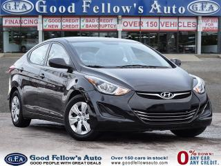 Used 2016 Hyundai Elantra L MODEL, 1.8 LITTER 4CYL for sale in Toronto, ON