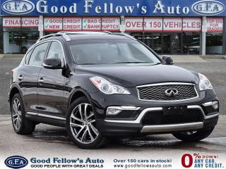 Used 2016 Infiniti QX50 3.7L 6CYL, AWD, REARVIEW CAMERA, HEATED SEATS for sale in Toronto, ON