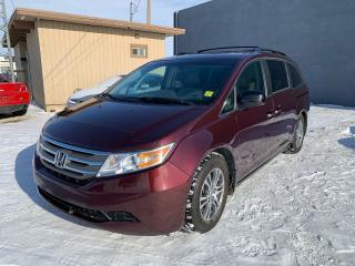 Used 2012 Honda Odyssey EX-L for sale in Saskatoon, SK