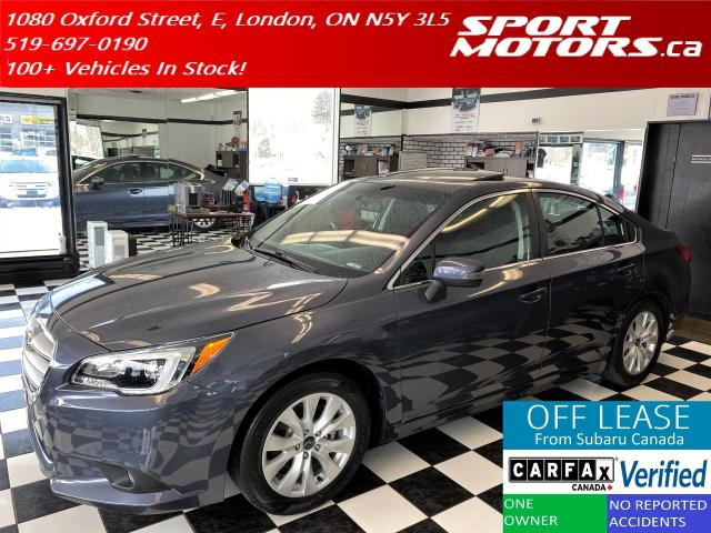 2016 Subaru Legacy 2.5i Touring AWD+Camera+Blind Spot+Accident Free