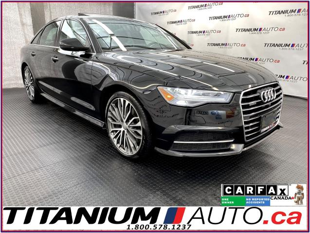2016 Audi A6 Technik+S-Line+360 Camera+GPS+Cooled Seats+BSM+XM+