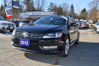 Used 2013 Volkswagen Passat HIGHLINE TDI, DSG for sale in Richmond Hill, ON