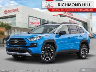 New 2020 Toyota RAV4 Trail  - Leather Seats -  Sunroof - $134.70 /Wk for sale in Richmond Hill, ON