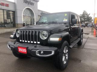 New 2020 Jeep Wrangler Unlimited Sahara 4x4 V6 for sale in Hamilton, ON