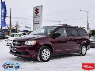 Used 2017 Dodge Grand Caravan SXT ~Full Stow 'N Go ~Dual Zone Climate Control for sale in Barrie, ON