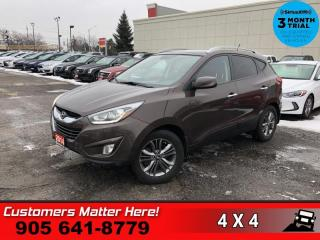 Used 2014 Hyundai Tucson GLS  AWD PANO-ROOF CAM 4X-HS 17 -AL for sale in St. Catharines, ON