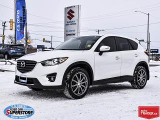 Used 2016 Mazda CX-5 GT AWD ~Heated Leather ~Power Moonroof ~Backup Cam for sale in Barrie, ON