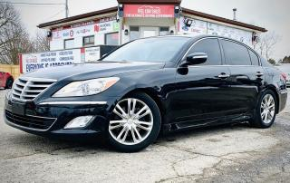 Used 2012 Hyundai Genesis 3.8L | VIDEO.CALL.US| LEATHER | SUNROOF |ALLOYS| BACKUP CAMERA| for sale in Mississauga, ON