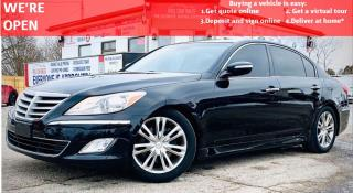Used 2012 Hyundai Genesis 3.8L | VIDEO.CALL.US| LEATHER | SUNROOF |ALLOYS| BACKUP CAMERA| NAVI for sale in Mississauga, ON