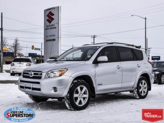 Used 2006 Toyota RAV4 Limited 4x4 ~Leather ~Power Moonroof ~Alloy Wheels for sale in Barrie, ON