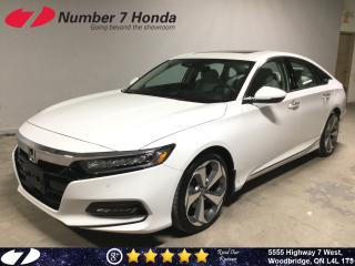 Used 2019 Honda Accord Touring| Loaded| Leather| Navi| for sale in Woodbridge, ON