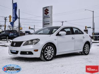 Used 2013 Suzuki Kizashi S AWD ~Heated Seats ~Power Seat ~Alloy Wheels for sale in Barrie, ON