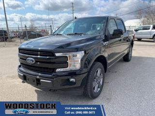 New 2020 Ford F-150 Lariat  502A, CREW, 5.0L, PWR BRD, ROOF, ADAPT, FX4 for sale in Woodstock, ON