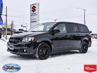 Used 2019 Dodge Grand Caravan GT ~Heated Leather ~Power Doors ~Backup Camera for sale in Barrie, ON