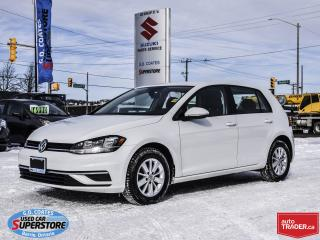 Used 2018 Volkswagen Golf Trendline ~Heated Seats ~Backup Cam ~Bluetooth for sale in Barrie, ON