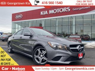Used 2016 Mercedes-Benz CLA-Class CLA 250 4MATIC | BACK UP CAM | LEATHER | HTD SEATS for sale in Georgetown, ON