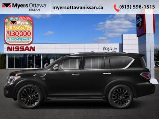 New 2020 Nissan Armada Platinum  - Cooled Seats -  Sunroof for sale in Ottawa, ON