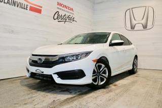 Used 2018 Honda Civic LX CVT for sale in Blainville, QC